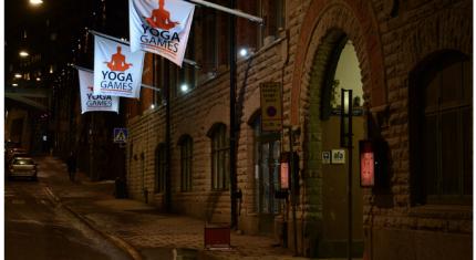 Kommentarer från besökare på Yoga Games i Stockholm 2015