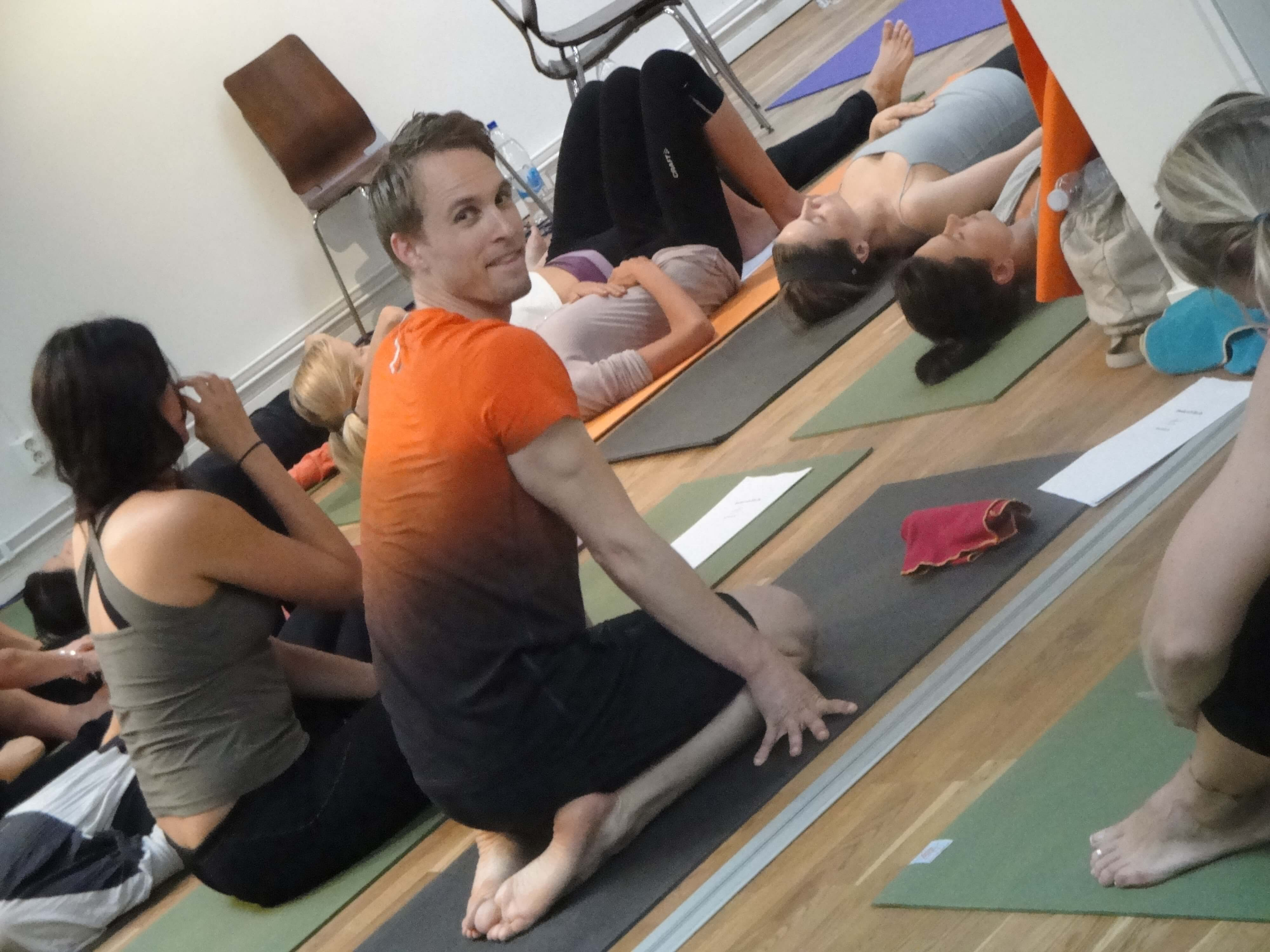 Hot yoga Stockholm